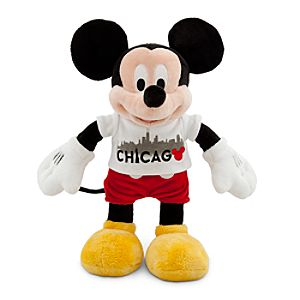 Chicago Tee Mickey Mouse Plush Toy -- 18 H