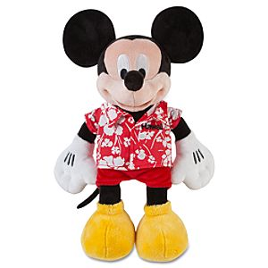Mickey Mouse Plush - Hawaii - 12""