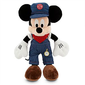 Mickey Mouse Trolley Driver Plush - San Francisco - 16