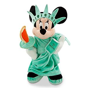 New York Minnie Mouse Plush Toy -- 13'' H