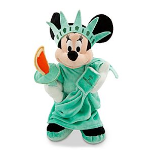 New York Minnie Mouse Plush Toy -- 18 H