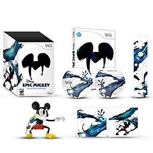 Pre-Order Disney Epic Mickey Collectors Edition for Nintendo Wii