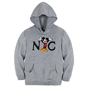 Pullover Fleece New York Mickey Mouse Hoodie for Kids