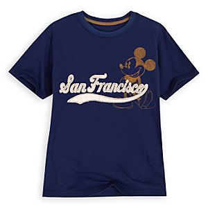 Vintage San Francisco Mickey Mouse Tee for Boys