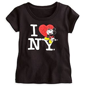 Mickey Mouse Tee for Girls - New York