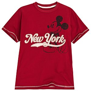 Vintage New York Mickey Mouse Tee for Boys