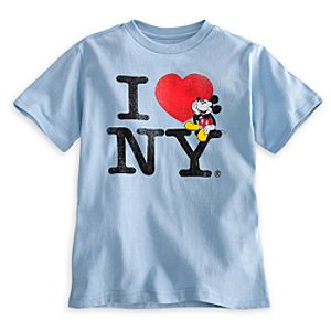 Mickey Mouse Tee for Boys - New York