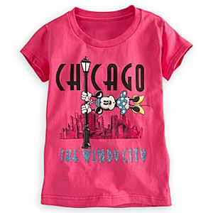Minnie Mouse Tee for Girls - Chicago