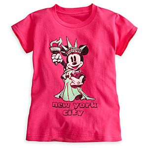 Minnie Mouse Minnie Liberty Tee for Girls - New York City