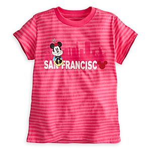 Minnie Mouse Tee for Girls - San Francisco