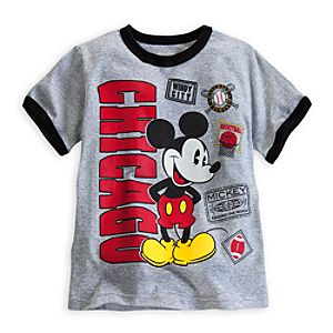Mickey Mouse Around the World Ringer Tee for Boys