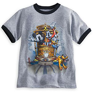Mickey Mouse and Friends Ringer Tee - San Francisco