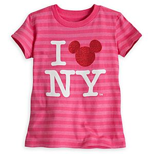 Mickey Mouse Icon Tee for Girls - New York