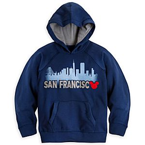 Mickey Mouse Hoodie for Kids - San Francisco