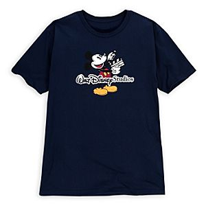 Walt Disney Studios Mickey Mouse Tee for Adults -- Made with Organic Cotton