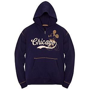 Vintage Chicago Mickey Mouse Hoodie for Men