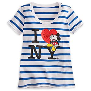 Mickey Mouse Tee for Women - New York