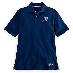 Walt Disney Studios Mickey Mouse Polo Shirt for Men