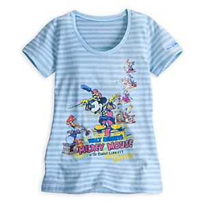 Mickey Mouse The Band Concert Tee for Women