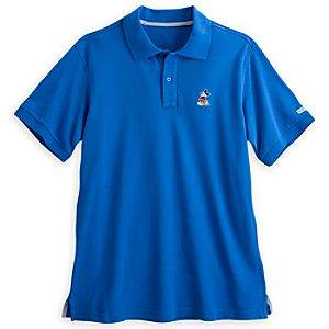 Mickey Mouse Polo for Men - Walt Disney Studios - Periwinkle