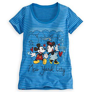 Mickey and Minnie Mouse Tee for Women - New York
