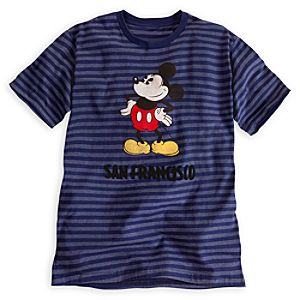 Mickey Mouse Tee for Men - San Francisco
