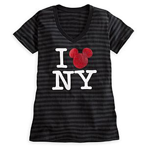 Mickey Mouse Icon Tee for Women - New York