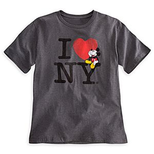 Mickey Mouse Tee for Men - New York