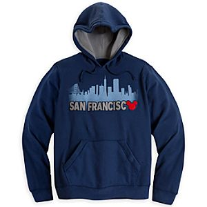 Mickey Mouse Hoodie for Adults - San Francisco