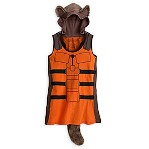 Rocket Raccoon Hooded Tank Tee for Women