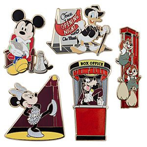 Mickey Mouse and Friends Broadway Pin Set