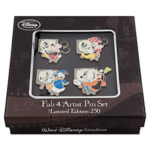 Mickey Mouse Pin Set - Walt Disney Studios