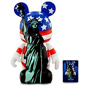 Vinylmation New York Series 9 Figure -- Stars and Lady Liberty