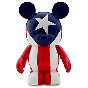 Vinylmation Flags Series Puerto Rico - 3""