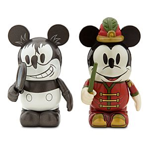 Vinylmation Mickey Through the Years 3 Figure Set - Plane Crazy and The Band Concert