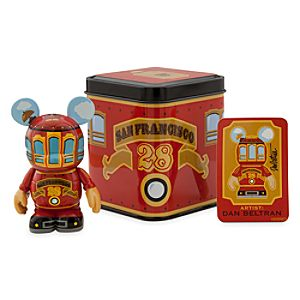 Vinylmation 3 Figure - San Francisco Red Trolley