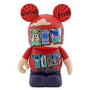 Vinylmation 3 Figure - Mickey and Minnie Mouse Around the World