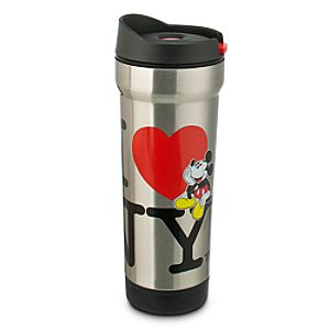 Mickey Mouse Travel Mug - I ? NY