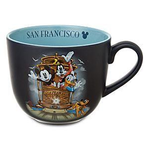Trolley San Francisco Mickey Mouse and Friends Mug