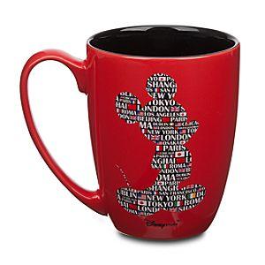 Magic Around the World Mickey Mouse Mug