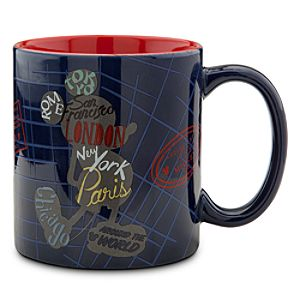 Mickey Mouse Around the World Mug