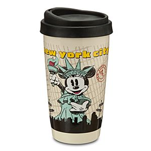 Minnie Mouse Travel Tumbler - New York