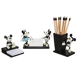 Walt Disney Studios Mickey Mouse Desk Accessory Set -- 3-Pc.