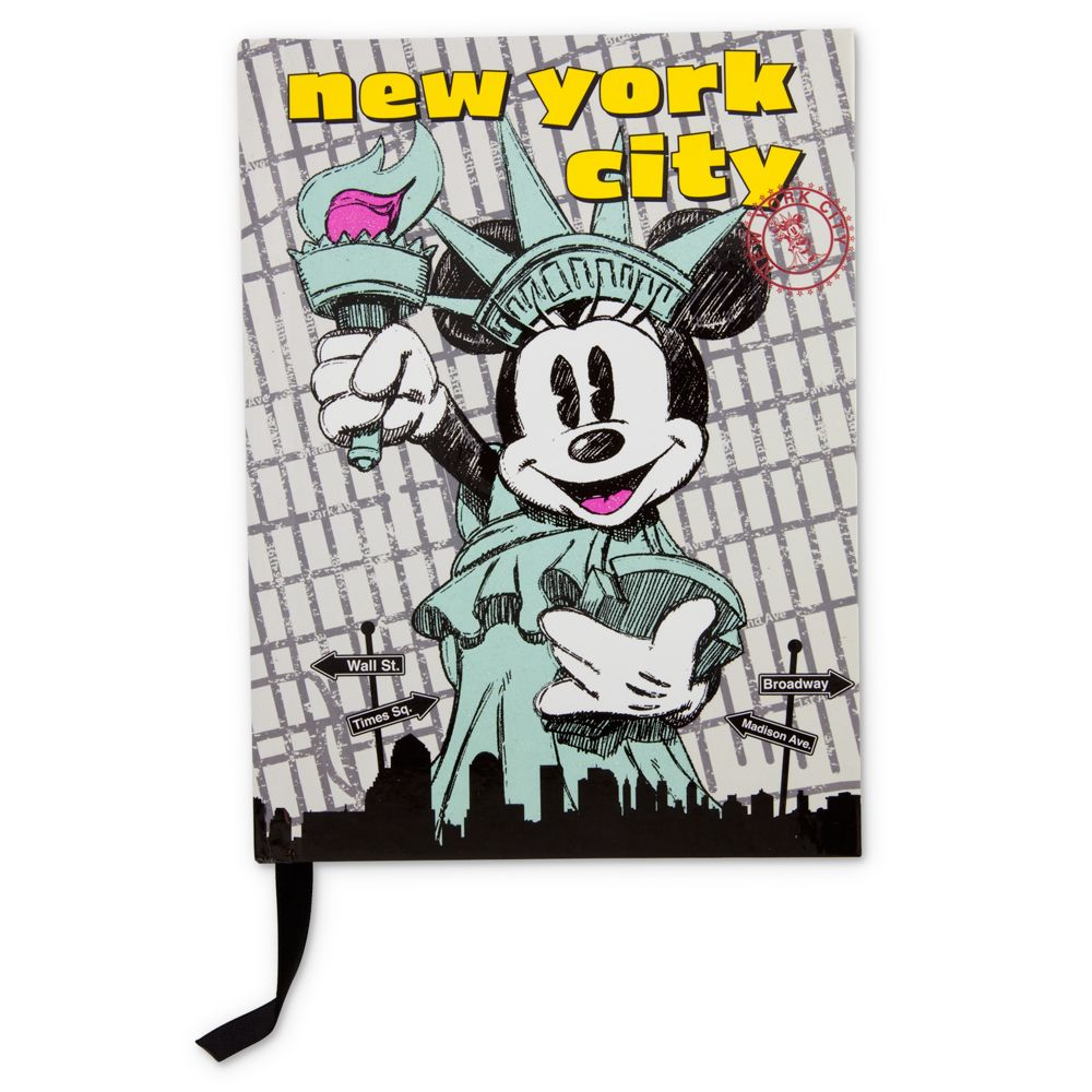 New York Minnie Mouse Journal