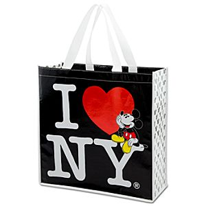 Reusable I Heart NY Mickey Mouse Tote