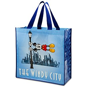 Reusable Chicago The Windy City Mickey Mouse Tote