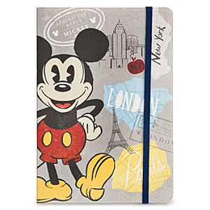 Mickey Mouse Around the World Journal
