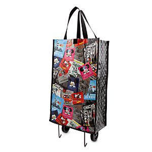 Mickey and Minnie Mouse Wheeled Resuable Bag