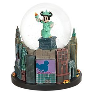 Minnie Mouse Snowglobe - Minnie Liberty