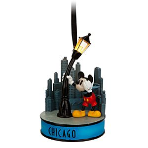 Mickey Mouse Light-Up Ornament - Chicago